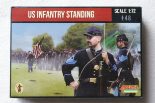 Strelets 1/72 ST0157 Union Infantry Standing (ACW)